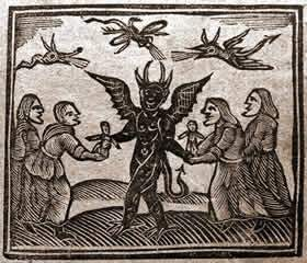 Agnes Sampson Witches Devil
