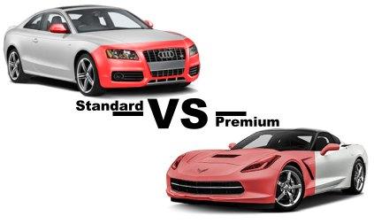 Standard VS Premium Paint Protection Film Packages
