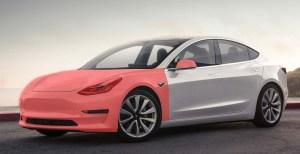 Tesla Model Clear Bra Premium Wrap Ghost Shield Film