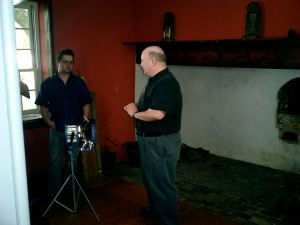 Ghosts of Gettysburg camera interview with Mark