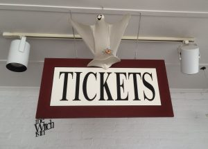 Ghosts of Gettysburg Ticket Sign