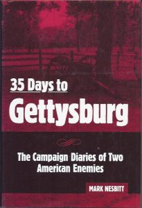 35 Days to Gettysburg Front Cover