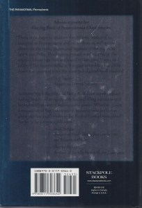 Big Book PA Ghost Stories Back Cover