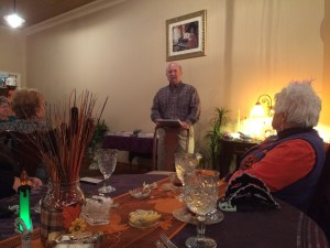 Mark Nesbitt sharing Ghosts of Gettysburg at Teas & Such