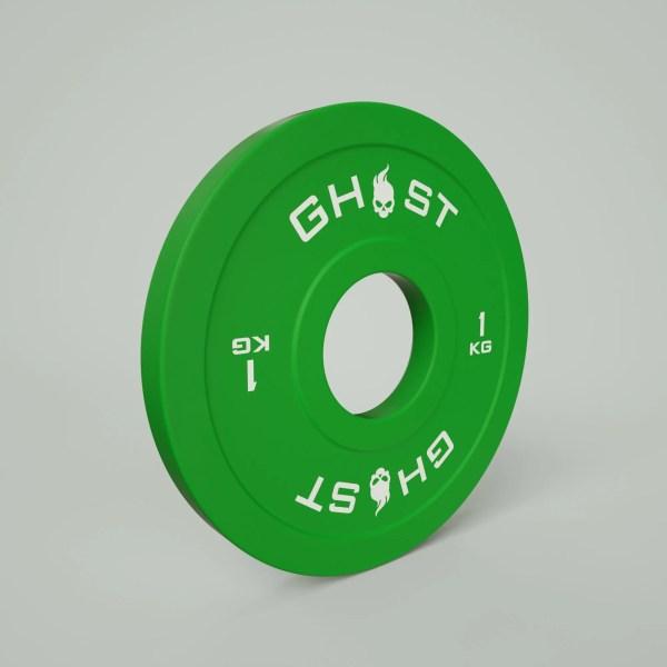 1KG Ghost Bumper Plate