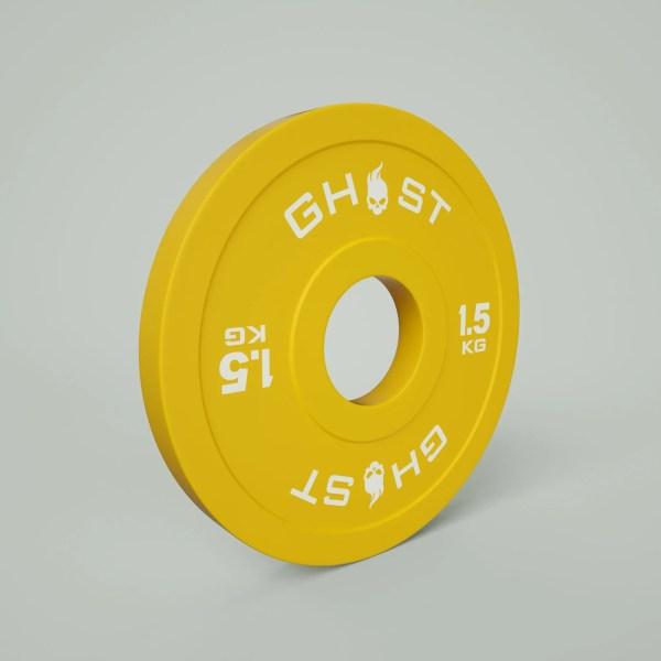 1.5KG Ghost Bumper Plate