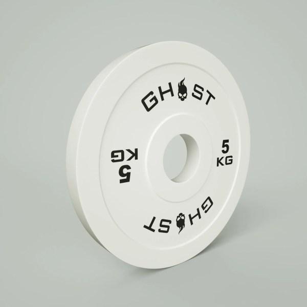 5KG Ghost Bumper Plate