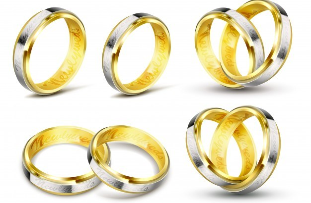 set-of-realistic-vector-illustrations-of-gold-wedding-rings-with-engraving_1441-547