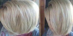 صبغة شعر بلاتيني ثلجي