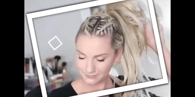 ضفائر الشعر الطويل 2017