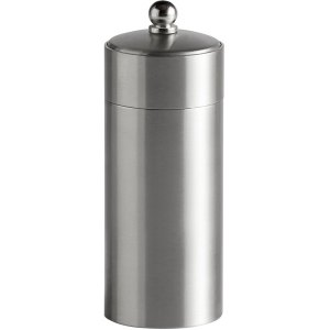 Brushed Metal Stainless Steel Pepper Mill