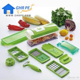 All in One Vegetable Cutter By Nicer and Dicer Plus