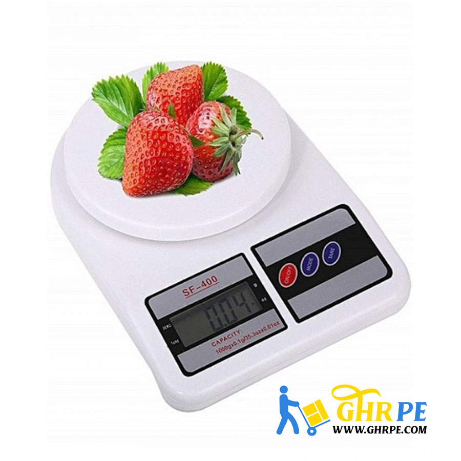 Stylish White Electronic Kitchen Scale SF-400