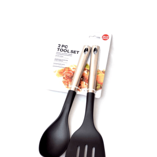 Imported Non-Stick Spoon & Slotted Turner (Pack of 2)