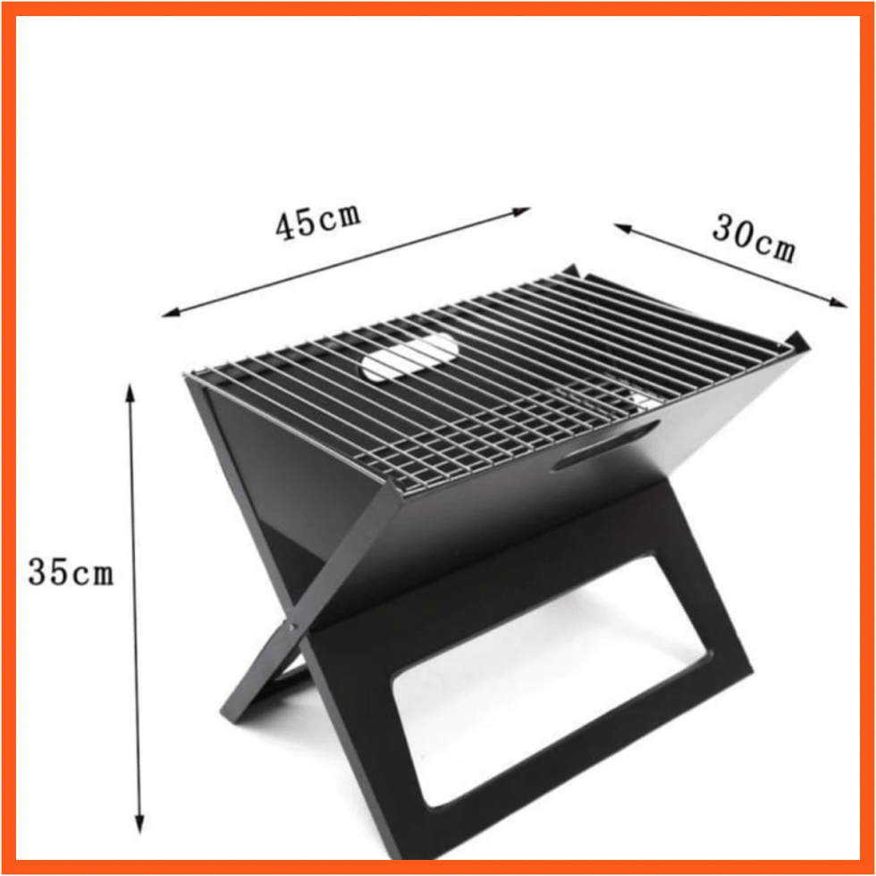 Foldable Indoor & Outdoor BAR.B.Q Charcoal Grill