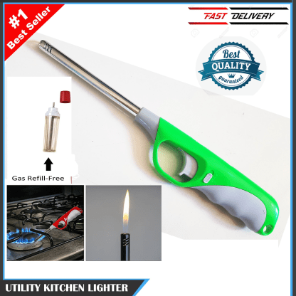 New Imported Electric Gas Lighter For Kitchen + Free refill