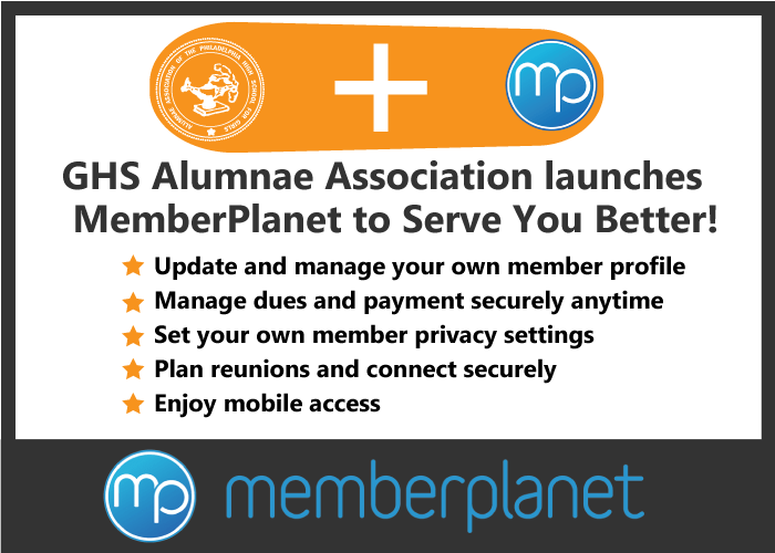 GHS Alumnae launches MemberPlanet to provide advanced membership tools.