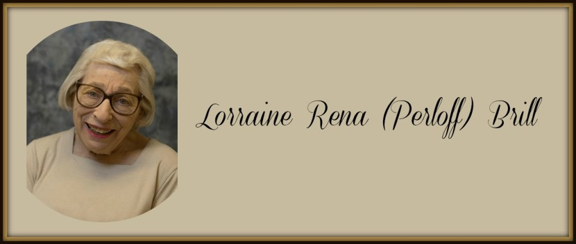 Alumnae Association appreciates Lorraine Rena Perloff Brill