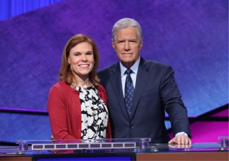 Mariah Minges Klusman competes in Jeopardy! Teachers Tournament