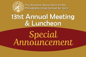 2020 Annual Meeting and Luncheon Postponement Announcement
