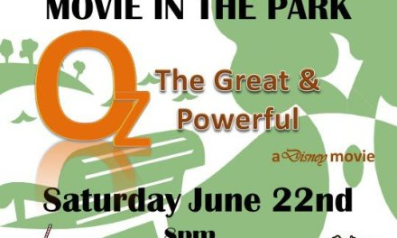 """FREE Movie in the Park – Saturday, June 22 – Disney's """"Oz, the Great & Powerful"""""""