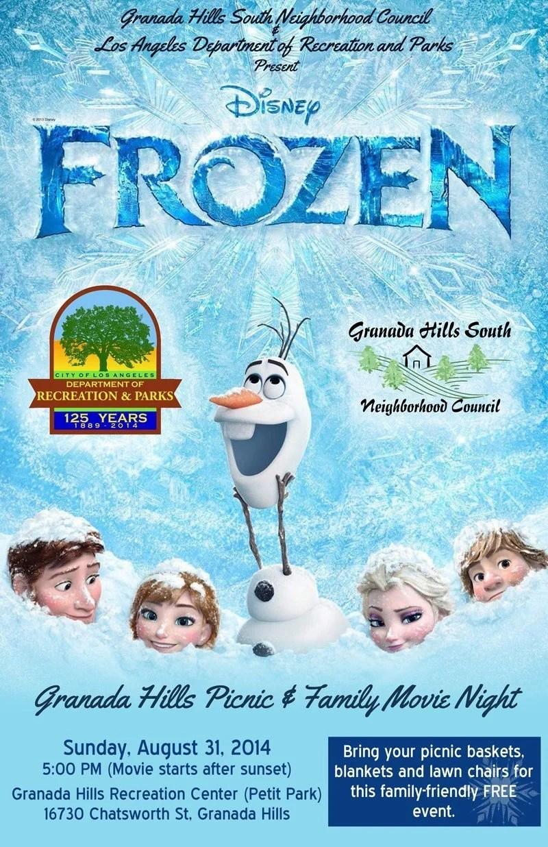 GHSNC-Frozen2014-MovieNightFlier