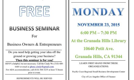Business Seminar: How to Grow Your Business or Get Your Ideas Off the Ground