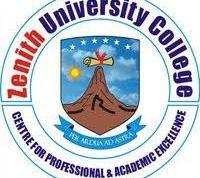 Zenith University College Admission List