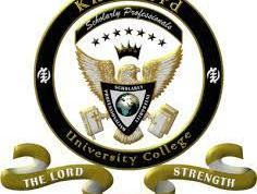 Knutsford University College Admission Letter
