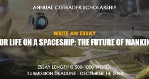 CGTrader Annual Scholarship