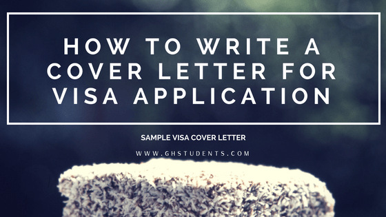 How to Write a Cover Letter for Visa Application