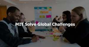 MIT Solve Global Challenges for Entrepreneurs