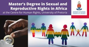 University of Pretoria Master's in Sexual and Reproductive Rights in Africa Scholarships 2018