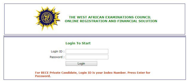 WAEC Private BECE SHS Selection Process 2019/2020