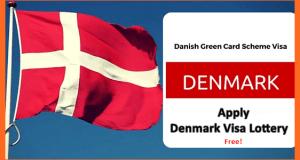 Denmark Green Card Application Form