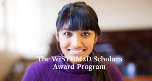 WiSTEM²D Scholars Award Program