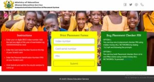 Buy SHS Placement Checker With Your Phone