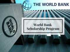 Joint Japan/World Bank Graduate Scholarship