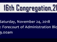 MUCG Congregation Ceremony
