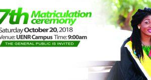 UENR Matriculation Ceremony Date
