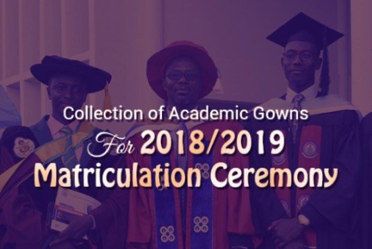UEW Collection of Academic Gowns