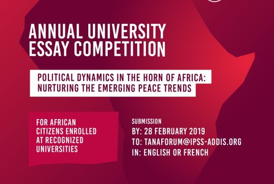 Tana Forum University Essay Competition