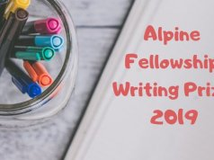 Alpine Fellowship Writing Prize