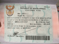 South Africa Visa Application Fees in Ghana