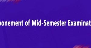 UEW Mid-Semester Examinations