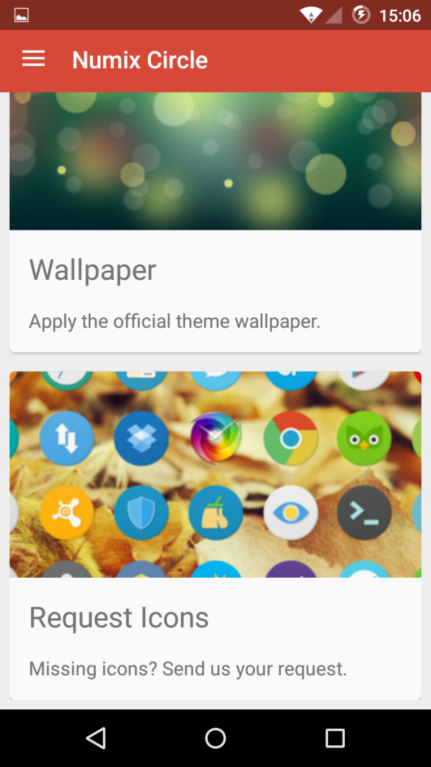 Download Numix Circle Icon Pack Lstest APK File