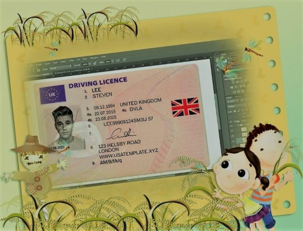 download uk driver license psd template free ghw download