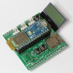 Arduino用 Bluetooth LE シールド を作りました