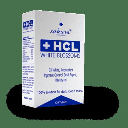 Viên uống trị nám HCL Sakura White Blossom có giá bao nhiêu tiền?