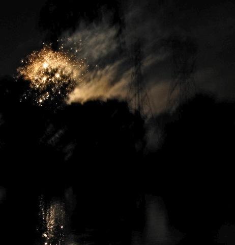 Fireworks- Jumpin' Jack's 2009 - reflection #2